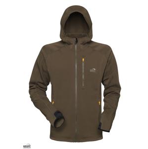 Geoff Anderson Bunda mikro fleece Hoody 3 zelená - XL