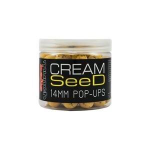 Munch Baits Plovoucí boilie Pop-Ups Cream Seed 100g - 18mm