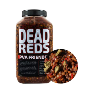 Munch Baits Partikly s červenými červy Dead Reds 2,35l