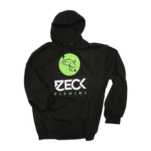 Zeck Mikina Hoodie Catfish Black - XXXL