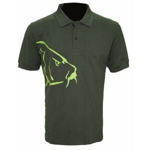 Zfish Tričko Carp Polo T-Shirt Olive Green - XL