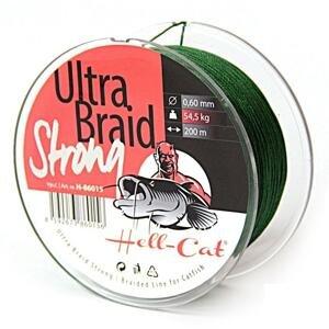 Hell-Cat Splétaná šňůra Ultra Braid Strong - 0,60mm 200m