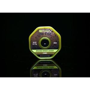 RidgeMonkey Šoková potápivá šňůra RM - Tec Braided Shockleader 50lb 20m - Camou