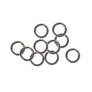 Zeck Pevnostní přívlačové kroužky HD Split Ring Predator 10ks - 55kg