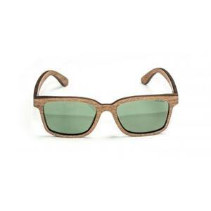 Nash Dřevěné Brýle Timber Sunglasses - zelené skla