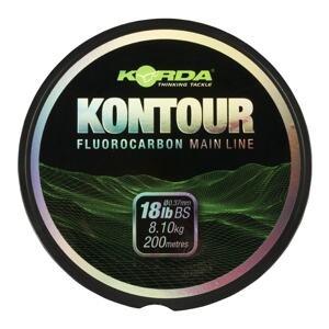 Korda Fluorocarbon Kontour Fluorcarbon 200m - 18lb