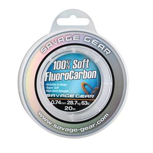 Savage Gear Fluorocarbon Soft Fluoro Carbon 50m - 0,26mm/10.3lbs/4.7kg