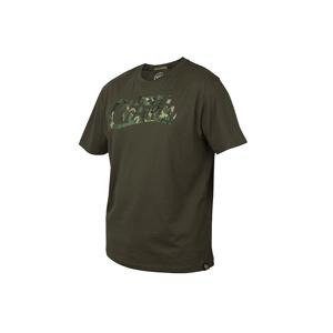 Fox Triko Chunk Khaki/Camo T-Shirt - S