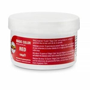 MVDE Barva do návnad Magic Color 100g - Red