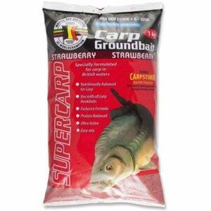 MVDE Krmítková směs Carp Groundbait 1kg - Strawberry