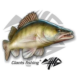 Giants Fishing Nálepka velká Candát