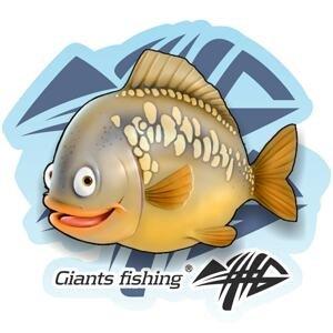 Giants Fishing Nálepka velká Kapr detský