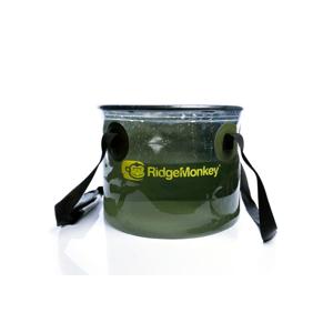 RidgeMonkey Skládací průhledný kbelík Perspective Collapsible Bucket 10L