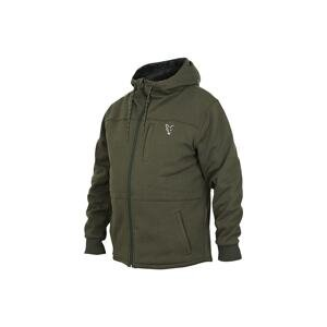 Fox Mikina Collection Sherpa Hoody Green/Silver - L