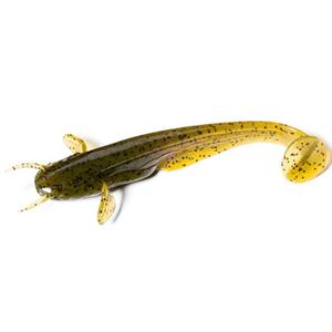 FishUP Dipované umělé nástrahy Catfish 75mm 8ks - Green Pumpkin Seed