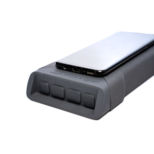 RidgeMonkey Powerbanka s bezdrátovým nabíjením Vault C-Smart 26950 mAh - šedá