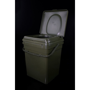 RidgeMonkey Toaletní sedátko CoZee + kýbl Modular Bucket 30l - celý set