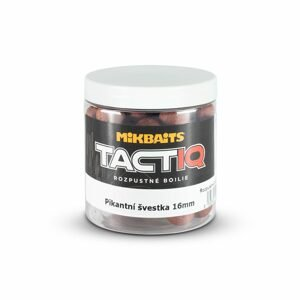 Mikbaits Rozpustné boilie TactiQ Pikantní švestka 250ml - 20mm