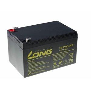 Long Olověný akumulátor 12V 12Ah (WP12-12E) pro echoloty