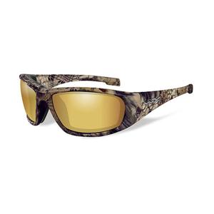 Wiley X Polarizační brýle Boss Polarized amber gold mirror lens/Kryptek Highlander