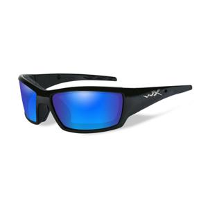 Wiley X Polarizační brýle Tide Polarized blue mirror green lens/Gloss black frame