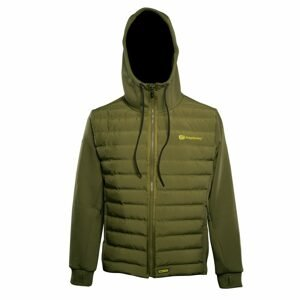 RidgeMonkey Bunda APEarel Dropback Heavyweight Zip Jacket Green - XXXL