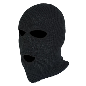 Norfin Kukla Hat-Mask Knitted Black - L