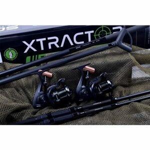 Sonik Pruty s navijáky a podběrákem Xtractor 2 Rod Carp Kit 10' 3m 3,5lb