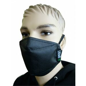 R-Spekt Obličejová filtrační ochranná rouška black