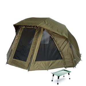 Giants Fishing Přístřešek Umbrella Brolly Exclusive 60 MKII + stolek Bivvy Table ZDARMA!