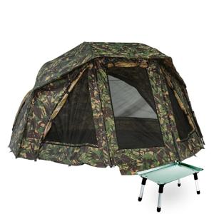 Giants Fishing Umbrella Brolly Exclusive Camo 60 + stolek Bivvy Table ZDARMA!