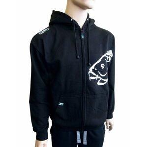 R-Spekt Mikina zipová s kapucí Carper black - XXL