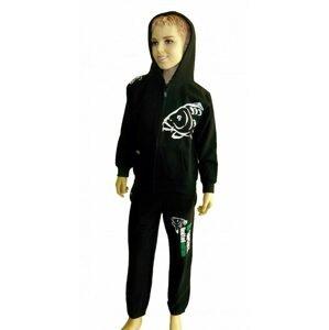 R-Spekt Dětská tepláková souprava Carper Kids black - 9/10 yrs