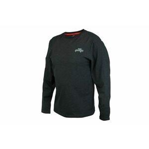 Fox Rage Triko Black Marl Tee Long Sleeve - XL