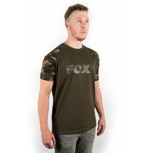 Fox Triko Camo/Khaki Chest Print T-Shirt - XL