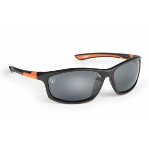 Fox Brýle Collection Black & Orange Sunglasses Grey Lens