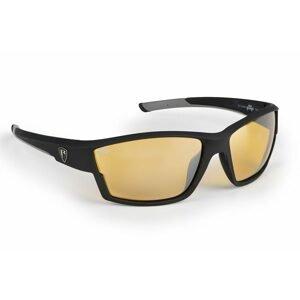 Fox Rage Brýle Matt Black Frame Sunglasses Amber Lense Wraps