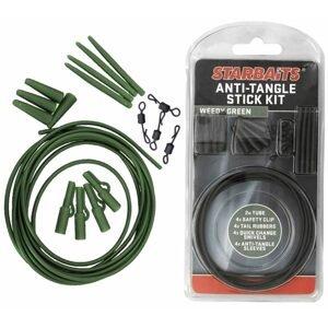 Starbaits Sada závěs na olovo Anti Tangle Stick Kit 4ks - zelená