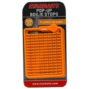Starbaits Zarážky Bait Stopper Pop UP Fluo 240ks - oranžová