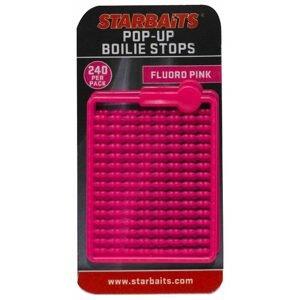 Starbaits Zarážky Bait Stopper Pop UP Fluo 240ks - růžová