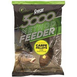Sensas Krmítková směs 3000 Method Feeder 1kg - Carpe Pellets
