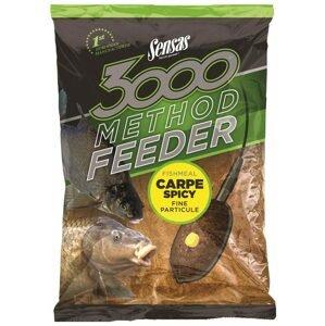 Sensas Krmítková směs 3000 Method Feeder 1kg - Carpe Spicy