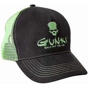Gunki Kšiltovka Trucker Black