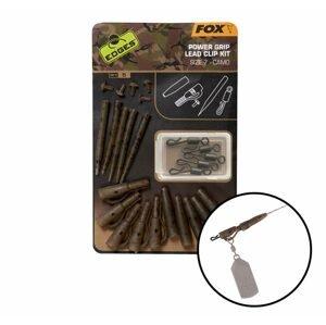 Fox Závěs na olovo Edges Camo Power Grip Lead Clip Kit vel.7 5ks
