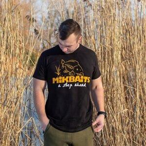 Mikbaits Tričko černé - M