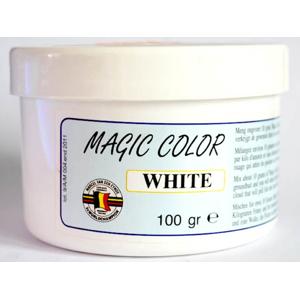 MVDE Barva do návnad Magic Color 100g - White