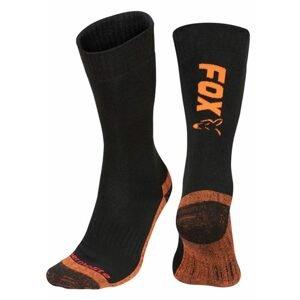 Fox Ponožky Collection Thermolite long sock Black/Orange