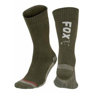Fox Ponožky Collection Thermolite long sock Green/Silver - 40-43