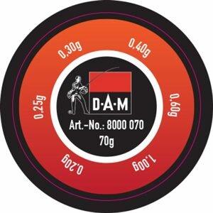 DAM Broky Split Shot Dispenser Lead 70g - Hrubé