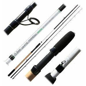 Sensas Prut Feeder White Arrow 300 3,6m Mediun 20-80g